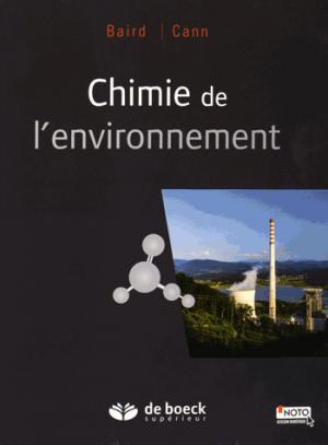 Chimie de l'environnement - de boeck superieur - 9782804192174 -