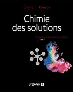 Chimie des solutions - de boeck - 9782807326750 -