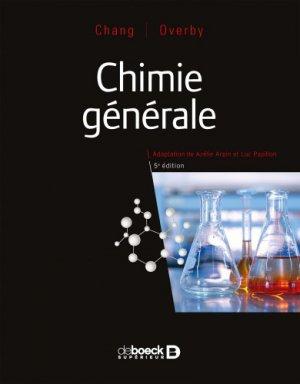 Chimie générale - de boeck - 9782807326767