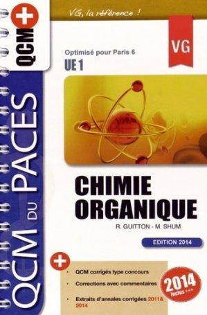 Chimie Organique  UE1 - vernazobres grego - 9782818312193