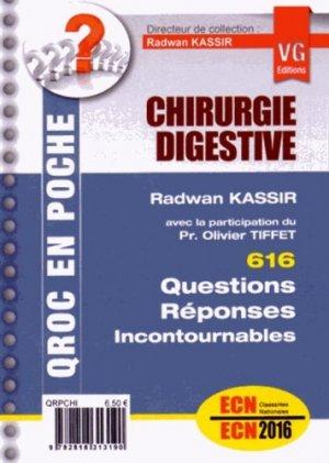 Chirurgie digestive - vernazobres grego - 9782818313190