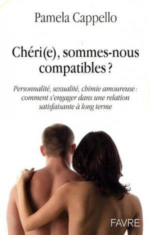 Cheri(e), sommes nous compatibles ? - favre - 9782828910778 -