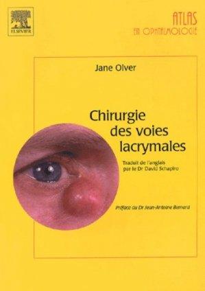 Chirurgie des voies lacrymales - elsevier / masson - 9782842994501 -