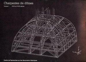 Charpentes de dômes - Tome 1 - centre de recherches sur les monuments historiques - 9782858224654 -