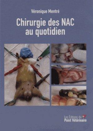 Chirurgie des NAC au quotidien (CD-ROM) - du point veterinaire - 9782863263525 -