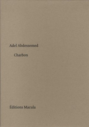 Charbon - Editions Macula - 9782865891085 -