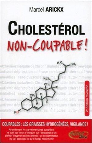 Cholestérol, non-coupable ! - testez - 9782874611100 -