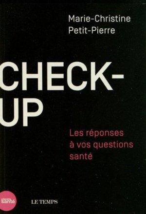 Check-up - medecine et hygiene - 9782880493554 -