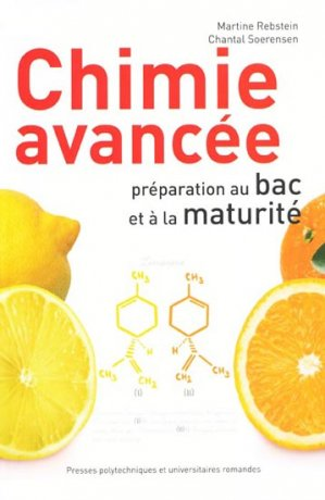 Chimie avancée - presses polytechniques et universitaires romandes - 9782880749279 -