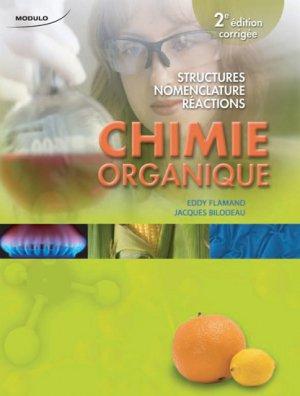 Chimie organique - modulo (canada) - 9782896500475 -