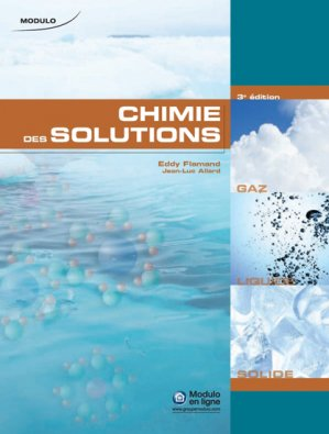 Chimie des solutions - modulo (canada) - 9782896501113 -