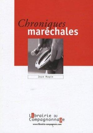 Chroniques maréchales - compagnonnage - 9782901362791 -