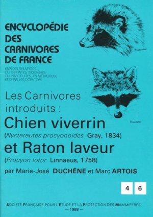 Chien viverrin et Raton laveur - museum national d'histoire naturelle - mnhn - 9782905216144 -