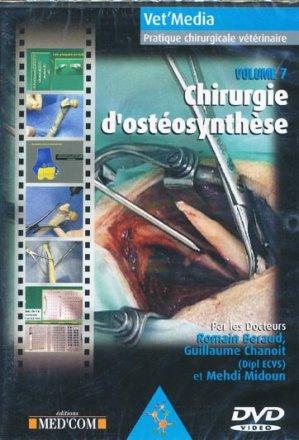 Chirurgie d'ostéosynthèse - med'com - 9782914738668 -
