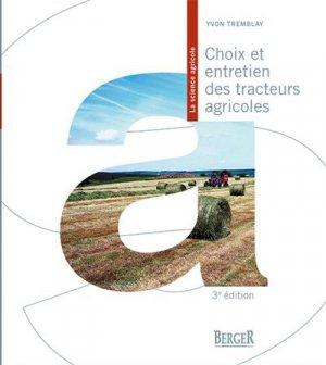 Choix et entretien des tracteurs agricoles - berger - 9782923786865 -