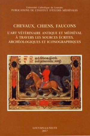 Chevaux, chiens, faucons - presses universitaires de louvain - 9782960076998 -