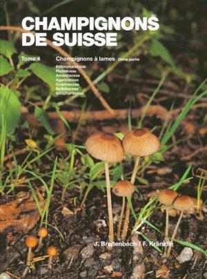 Champignons de Suisse Tome 4 - mykologia luzern - 9783856041403 -