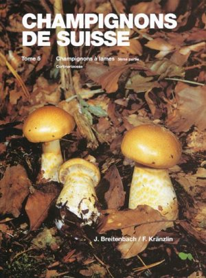 Champignons de Suisse Tome 5 - mykologia luzern - 9783856041502 -
