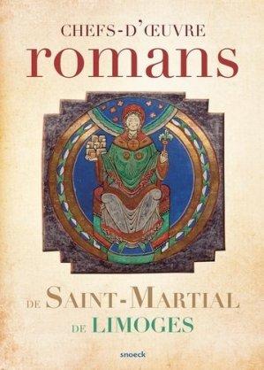 Chefs-d'oeuvre romans de Saint-Martial de Limoges - snoeck - gent editions - 9789461615565 -