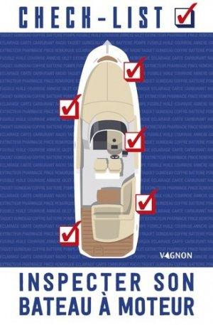 Check-list : inspecter son bateau à moteur - vagnon - 9791027101870 -