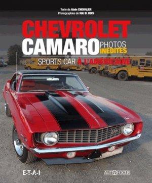 Chevrolet camaro - etai - editions techniques pour l'automobile et l'industrie - 9791028300562 -