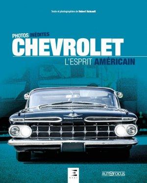 Chevrolet, l'esprit américain - etai - editions techniques pour l'automobile et l'industrie - 9791028304164 -