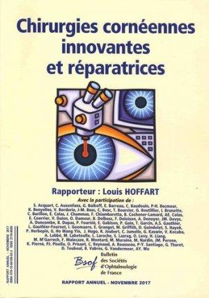 Chirurgie cornéennes innovantes et réparatrices - editions l - 9791094159033 -