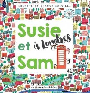 Cherche et Trouve Susie et Sam à Londres - La Marmotière Editions - 9791097479190 -