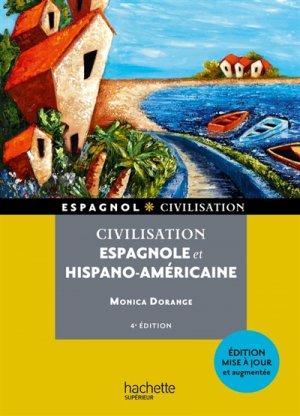 Civilisation espagnole et hispano-américaine - Hachette - 9782017009771 -