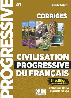 CIVILISATION PROGRESSIVE DU FRANCAIS - cle international - 9782090381696