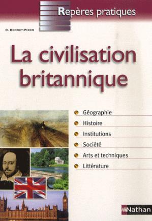 La civilisation britannique - nathan - 9782091604343 -