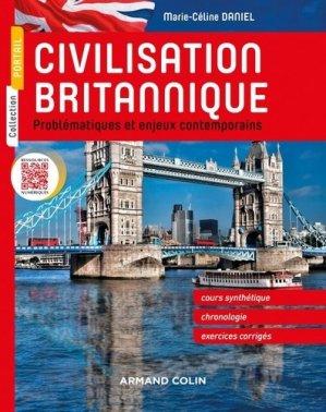 Civilisation britannique - armand colin - 9782200618100 -
