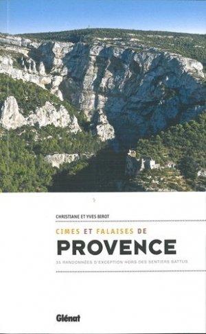 Cimes et falaises de Provence - Glénat - 9782344029817 -