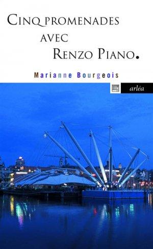 Cinq promenades avec Renzo Piano - arléa - 9782363081933 -
