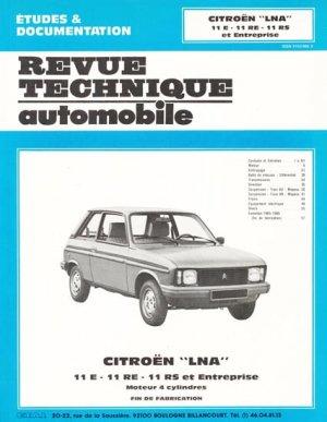 Citroën LNA - etai - editions techniques pour l'automobile et l'industrie - 9782726845424 -