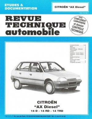 Citroën AX Diesel - etai - editions techniques pour l'automobile et l'industrie - 9782726850329 -