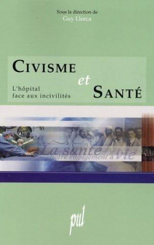 Civisme et santé - presses universitaires de lyon - 9782729708207 -