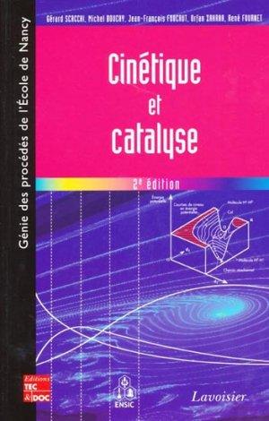 Cinétique et catalyse - lavoisier / tec et doc - 9782743013929 -