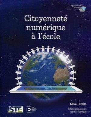 Citoyenneté numérique à l'école - Reynald Goulet - 9782893775104 -