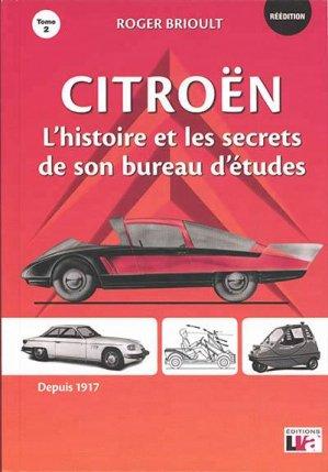 Citroën l'histoire et les secrets de son bureau d'études - lva (la vie de l'auto) - 9782900246023 -