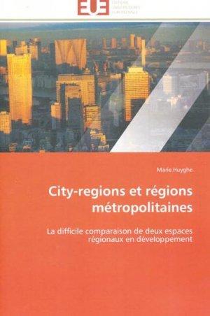 City-regions et régions métropolitaines - universitaires europeennes - 9783838180335 -