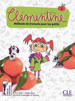 Clémentine 1 - Méthode de français Primaria, avec 1 DVD - cle international - 9782090383706 -