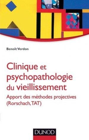 Clinique et psychopathologie du vieillissement - dunod - 9782100570010 -