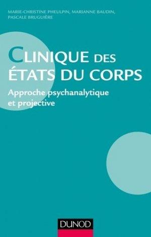 Clinique des états du corps - dunod - 9782100743797 -