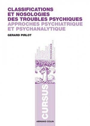 Classifications et nosologies des troubles psychiques - armand colin - 9782200282202