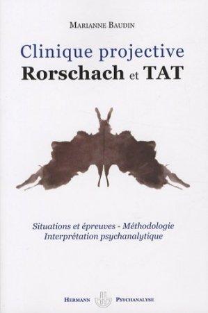 Clinique projective. Rorschach et TAT - hermann - 9782705665579 -
