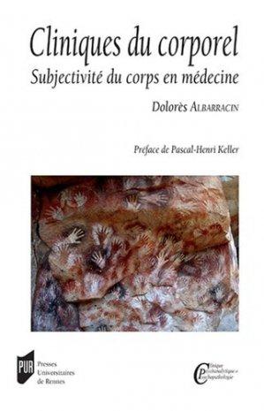 Cliniques du corporel - presses universitaires de rennes - 9782753576346 -