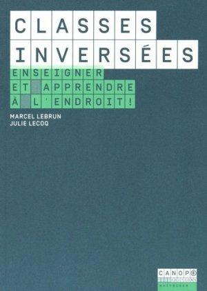 Classes inversées - Canopé - CRDP de Poitiers - 9782814203280 -