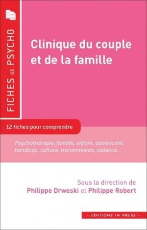 Clinique du couple et de la famille - In Press - 9782848355399 -