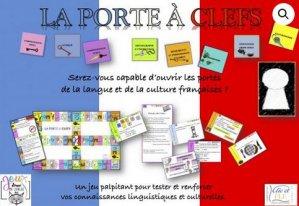 Coffret jeu LA PORTE A CLEFS - clic et fle - 2225614769459 -
